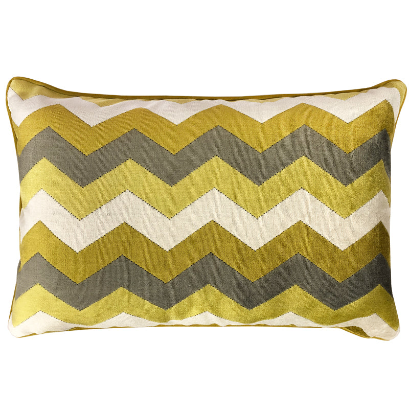 Fabiana Pillow | Size 18X26 | Color Gold