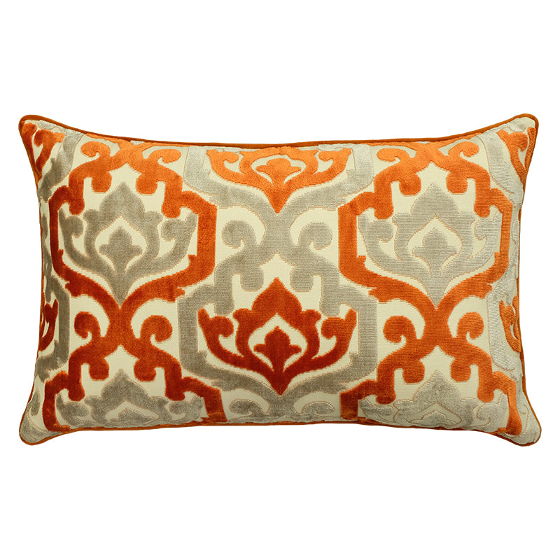 Freya Pillows | Size 16X26 | Color Orange