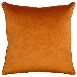 Freya Pillows | Size 23X23 | Color Orange