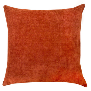 Gabbana Pillow | Size 23x23 | Color Rust