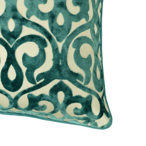 Genevieve Pillows | Size 18X20 | Color Turquoise