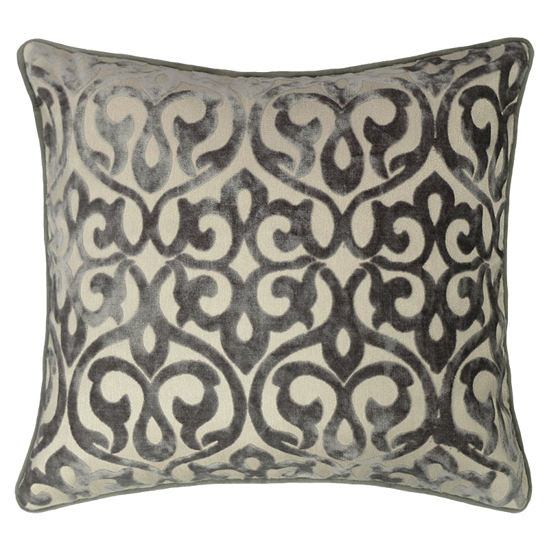 Genevieve Pillows | Size 18X20 | Color Gray