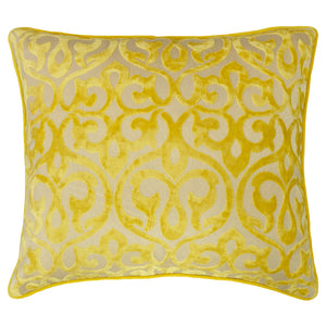 Genevieve Pillows | Size 18X20 | Color Mimosa