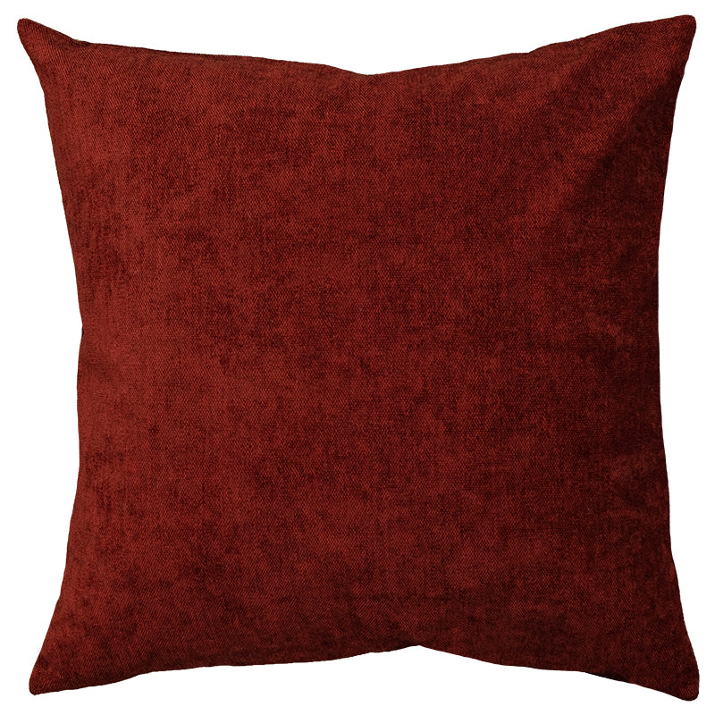 Genova Pillows | Size 20X20 | Color Merlot