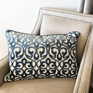 Georgia Pillow | Size 18X26 | Color Ocean