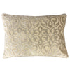 Georgia Pillow | Size 18X26 | Color Silver