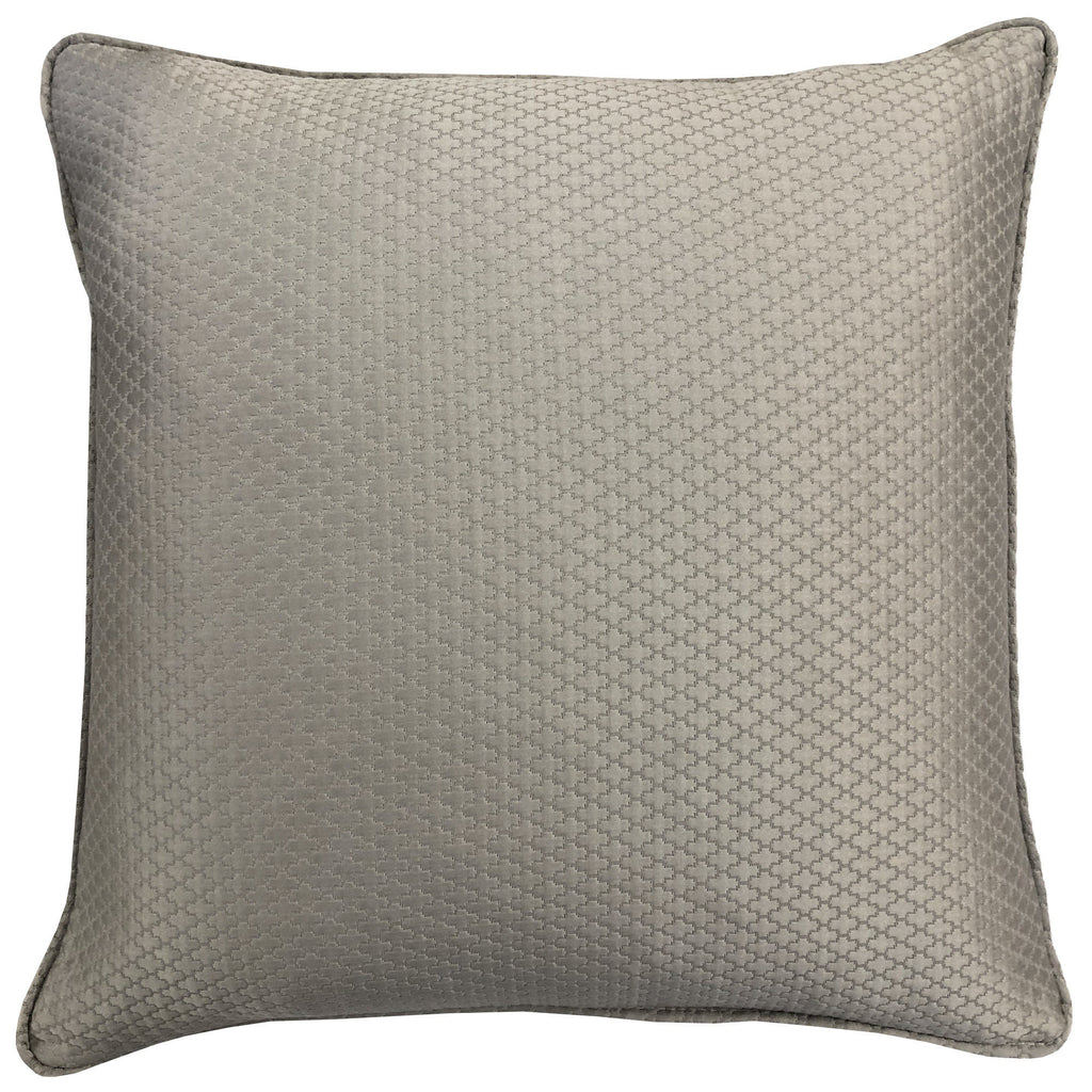 Geo Pillow | Size 20X20 | Color Gray