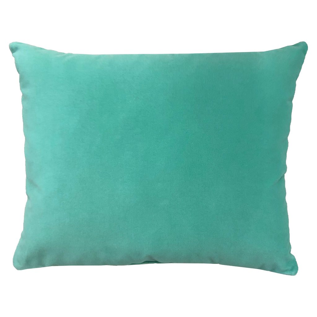 Giada Outdoor Pillow | Size 18X22 | Color | Spa