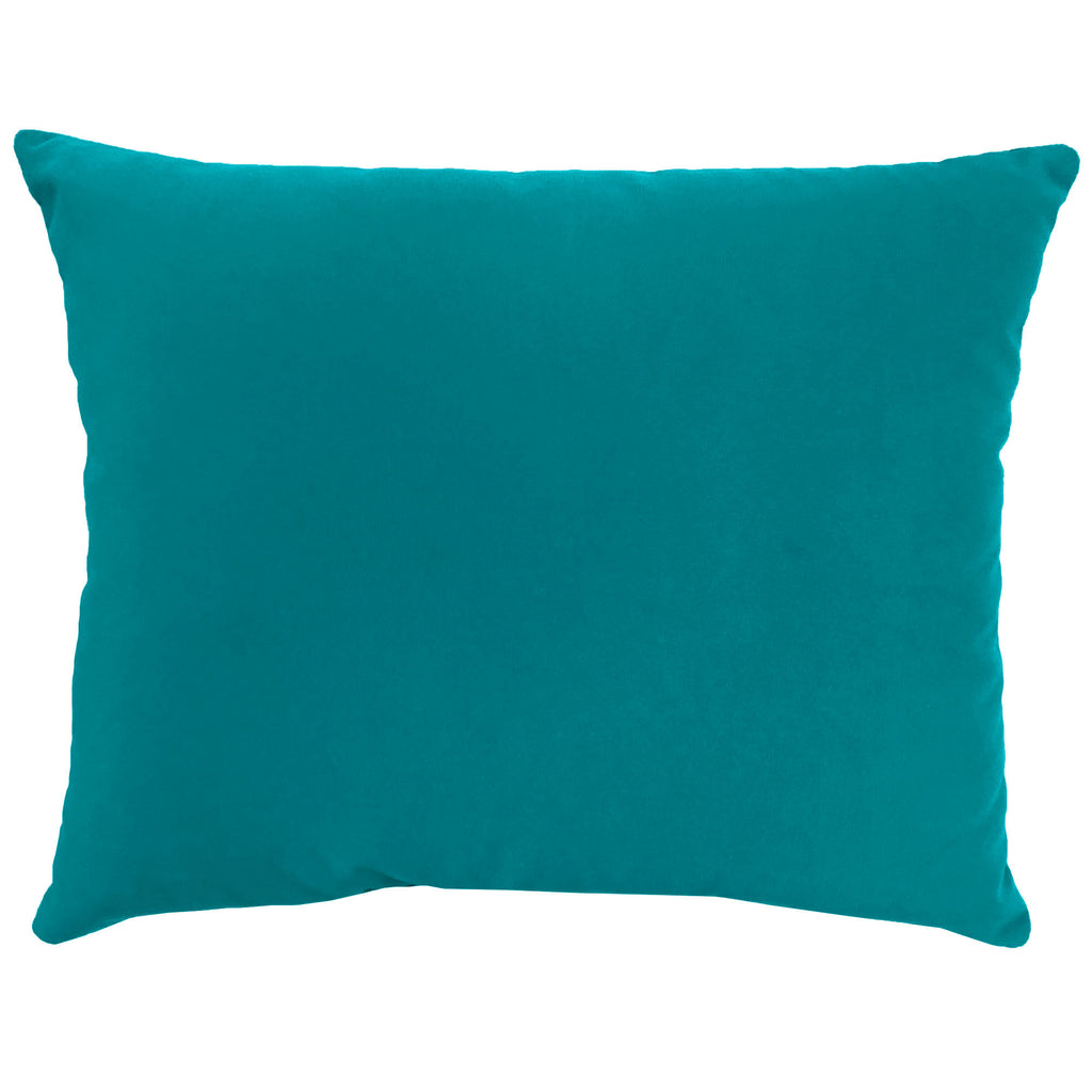 Giada Outdoor Pillow | Size 18X22 | Color | Turquoise
