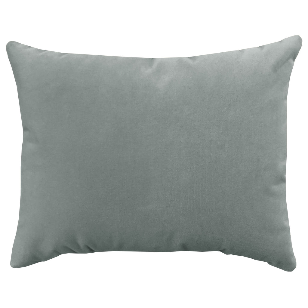 Giada Outdoor Pillow | Size 18X22 | Color | Silver