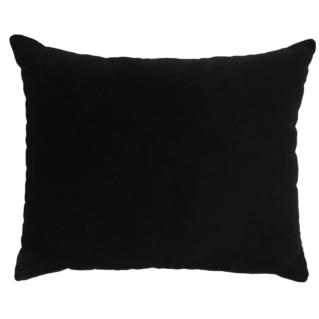 Giada Outdoor Pillow | Size 18X22 | Color | Black