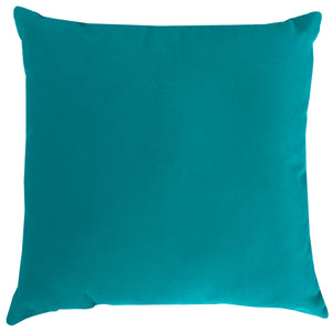 Giada Outdoor Pillow | Size 23X23 | Color | Turquoise