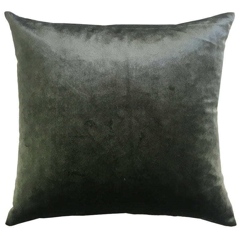 Gian Pillows | Size 20X20 | Color Charcoal