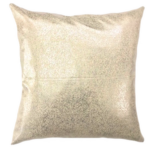 Glitz Pillows | Size 20X20 | Color Natural/Silver
