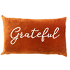 Grateful Pillow | Size 16X26 | Color Spice