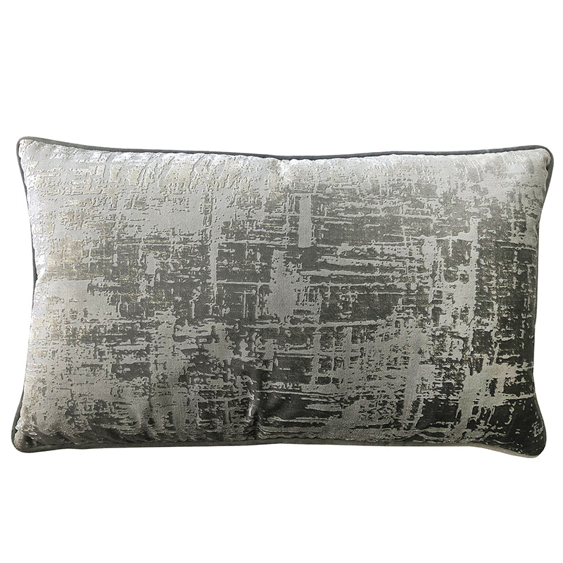 Halston Pillows | Size 16x26 | Color Silver
