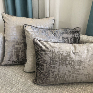 Halston Pillows | Size 16x26 | Color Pewter