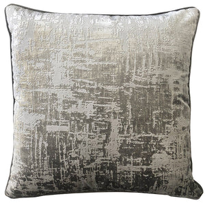 Halston Pillows | Size 23X23 | Color Pewter
