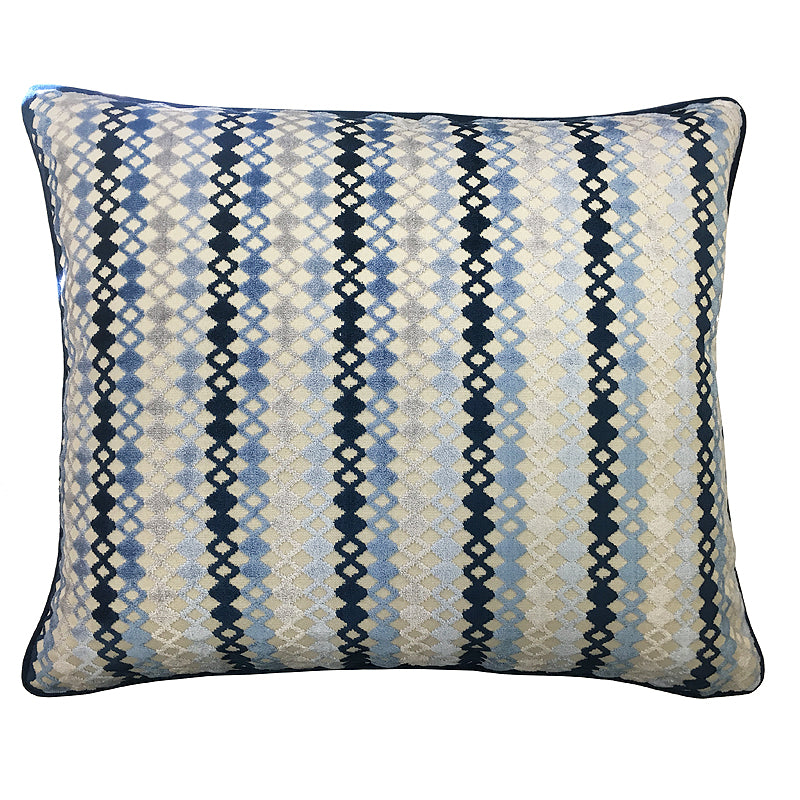 Harvy Pillow | Size 20X24 | Color Azure