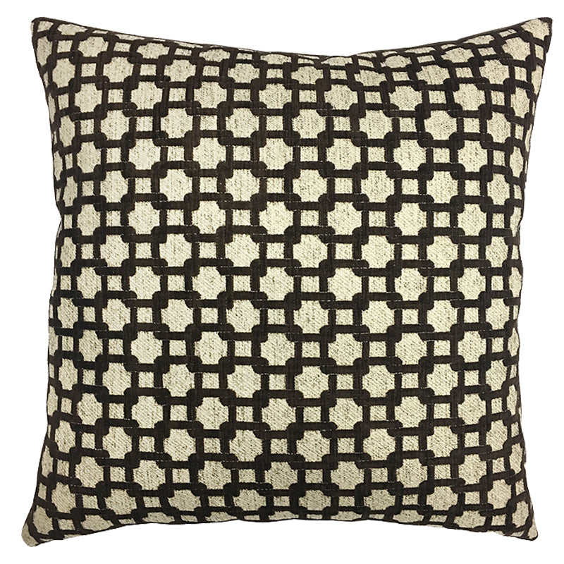 Highland Pillow | Size 20X20 | Color Mocha
