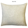 Love Linen Word Embroidery Pillow | Size 18X20