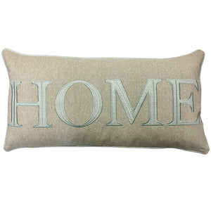 Hometown Pillow | Size 14x27 | Color Seaspray