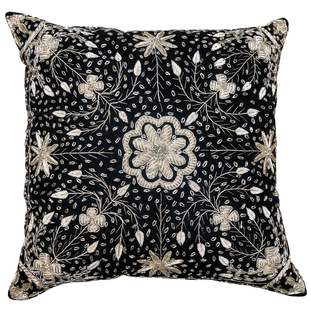 Indie Pillow Cover | Size 16X16 | Color Black