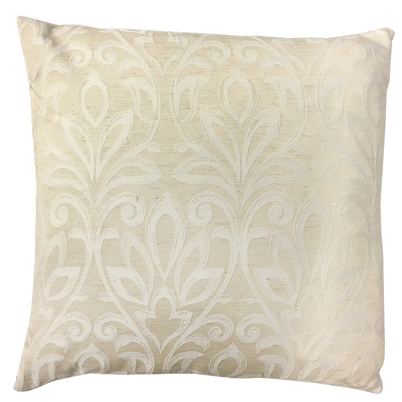 Jarvis Pillow | Size 20X20 | Color Cream