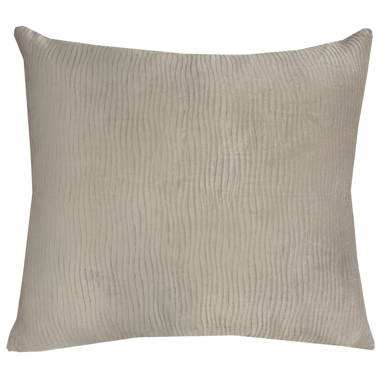 Jillian Pillow | Size 18x20 | Color Taupe - Rodeo Home