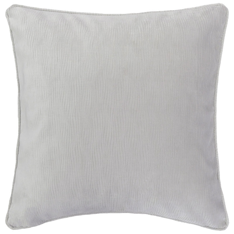 Jillian Pillow | Size 23X23 | Color Silver