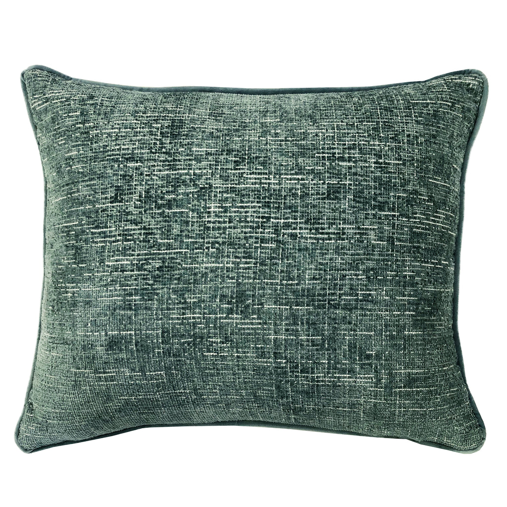 Joelle Pillow | Size 18X22 | Color Denim