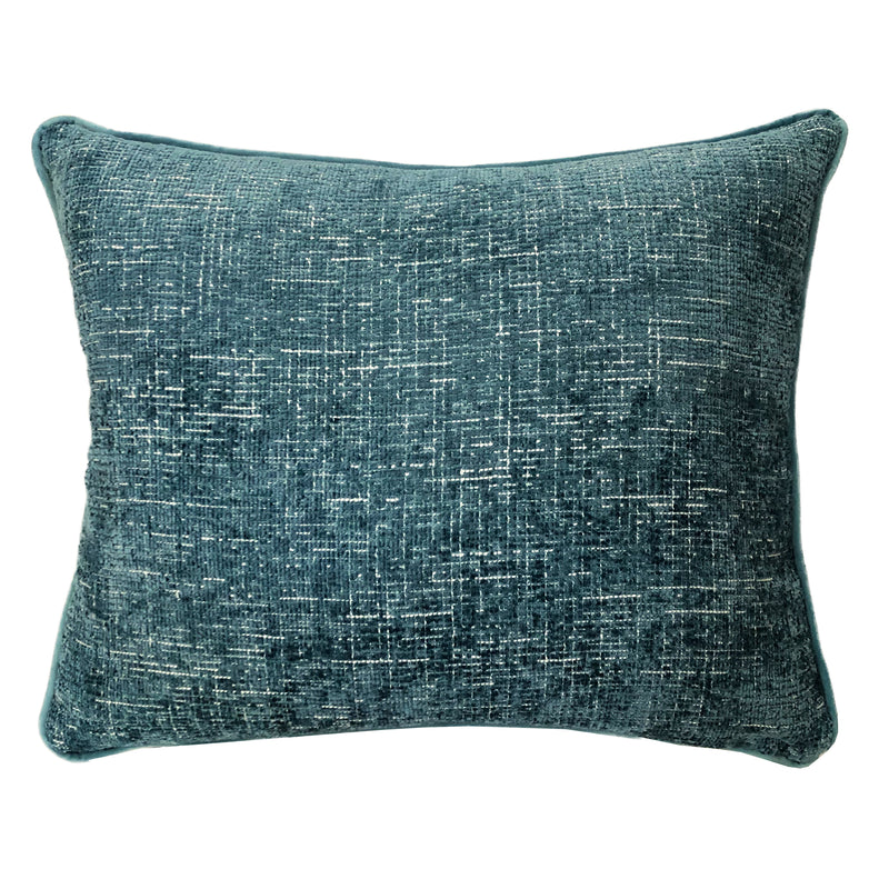 Joelle Pillow | Size 18X22 | Color Cerulean