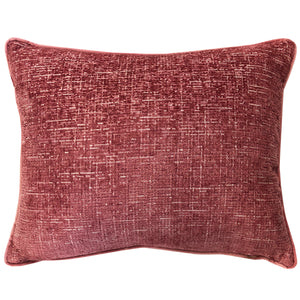 Joelle Pillow | Size 18X22 | Color Rose