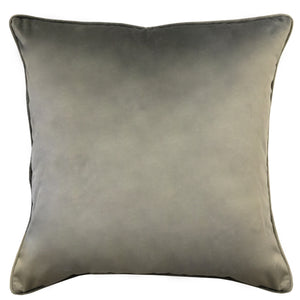 Joelle Pillow | Size 23X23 | Color Silver