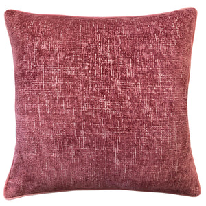 Joelle Pillow | Size 23X23 | Color Rose