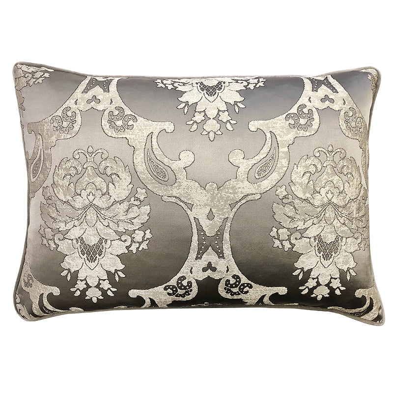 Katherine Pillow | Size 18X26 | Color Silver