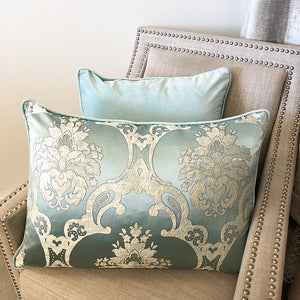 Katherine Pillow | Size 18X26 | Color Teal