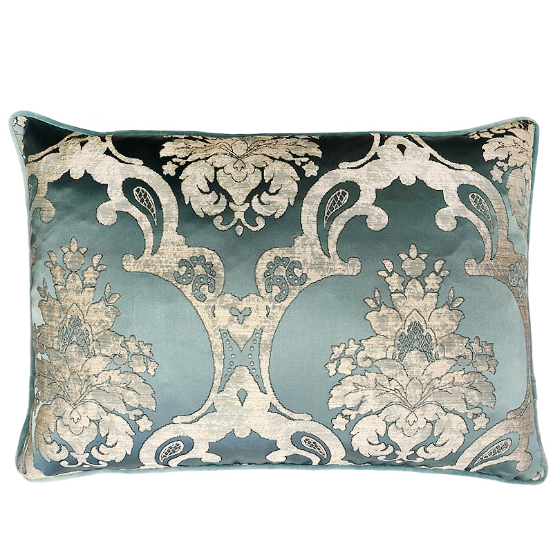 Katherine Pillow | Size 18x26 | Color Sky