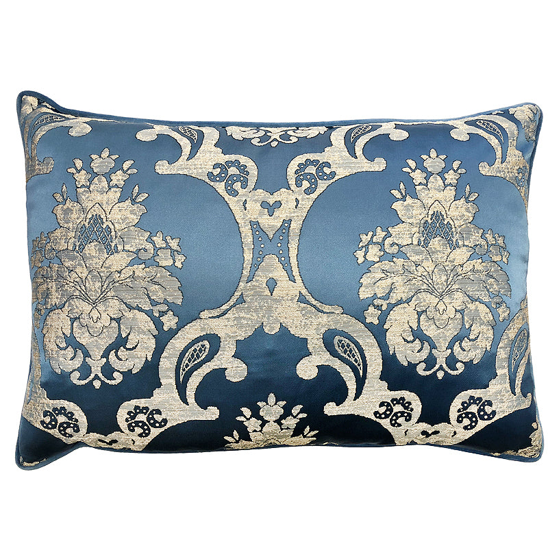 Katherine Pillow | Size 18x26 | Color Ocean