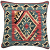 Kilim Pillow Cover | Size 16X16 | Color Multi