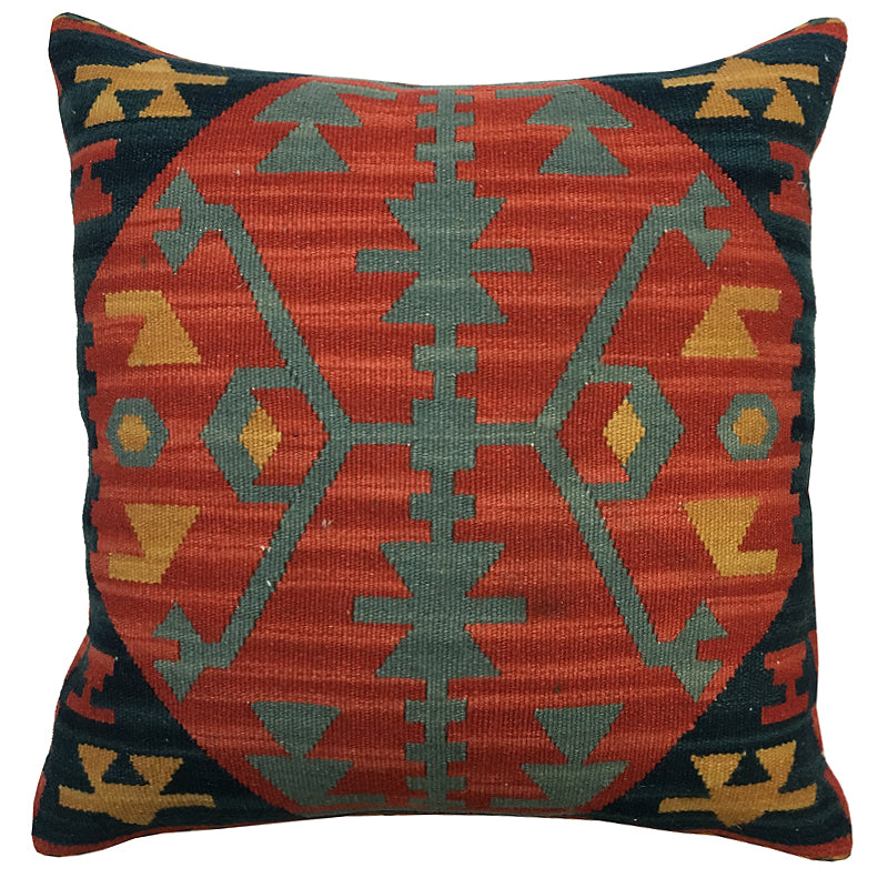 Kilim Pillow | Size 15X15 | Color Multi