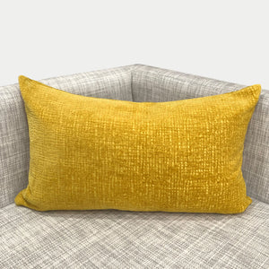 Kimia Pillow | Size 16X26 | Color Mustard