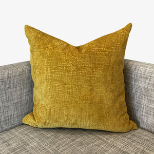Kimia Pillow | Size 23X23 | Color Mustard