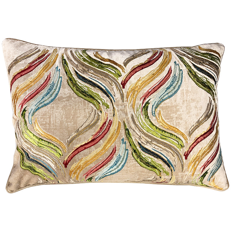 Kingsley Pillow | Size 18X26 | Color Ivory