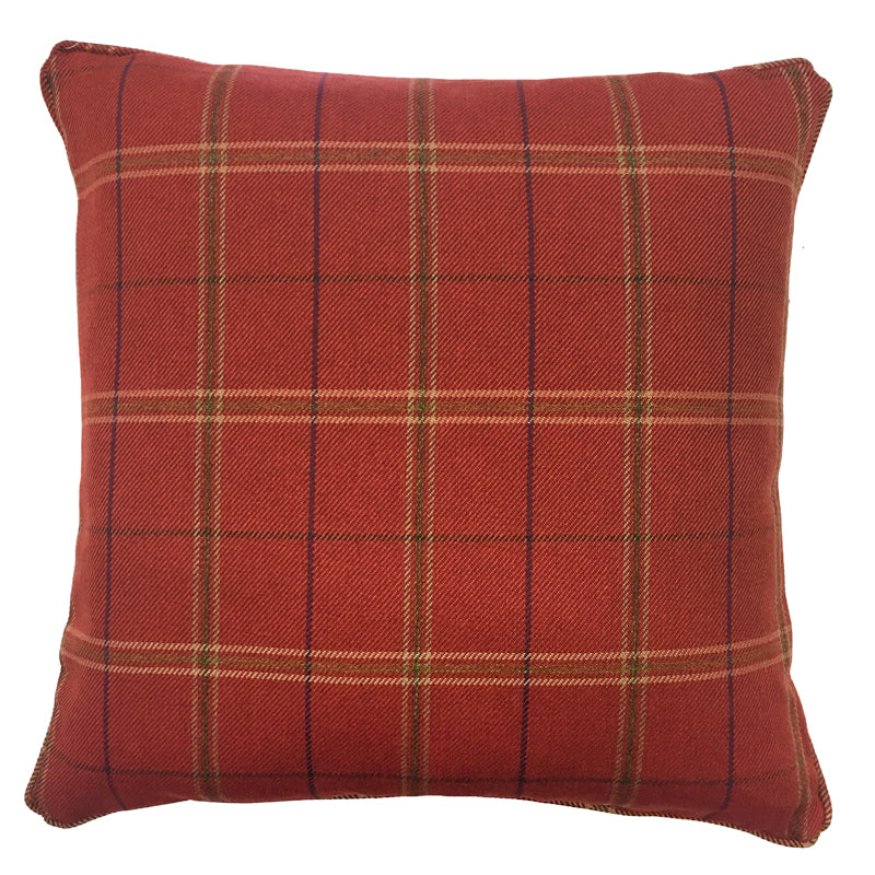 Lawrence Pillow | Size 20X20 | Color Terracotta