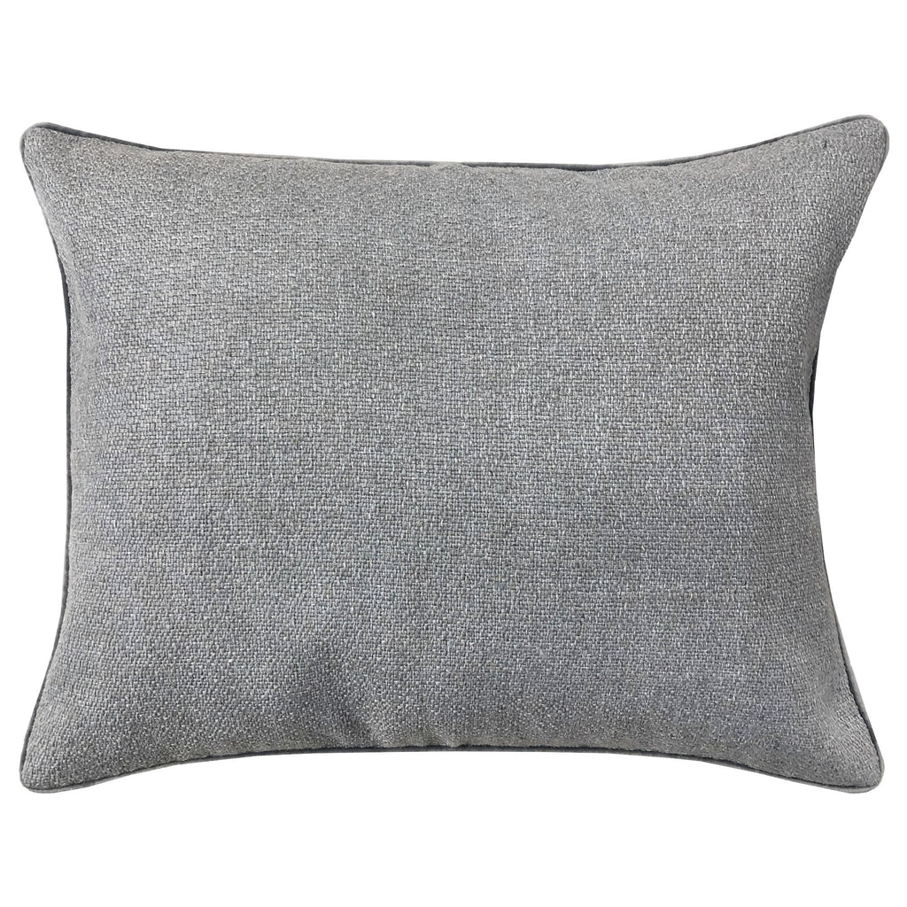 Leandra Pillow | Size 18X22 | Color Silver