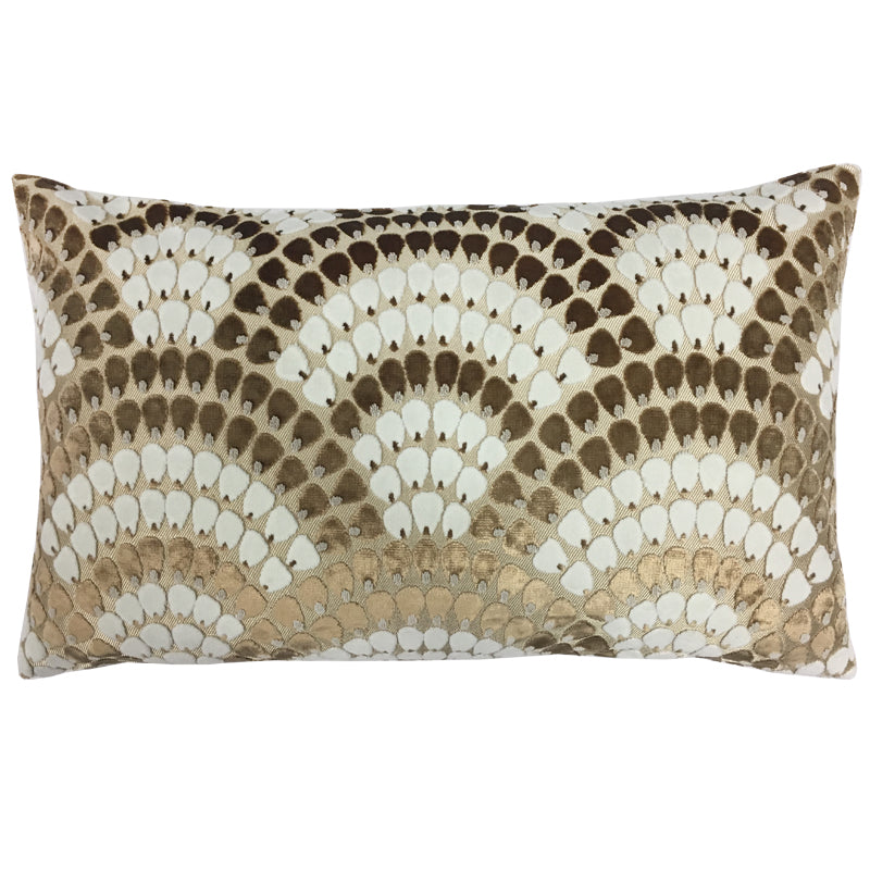Lennix Pillow | Size 16x26 | Color Bronze