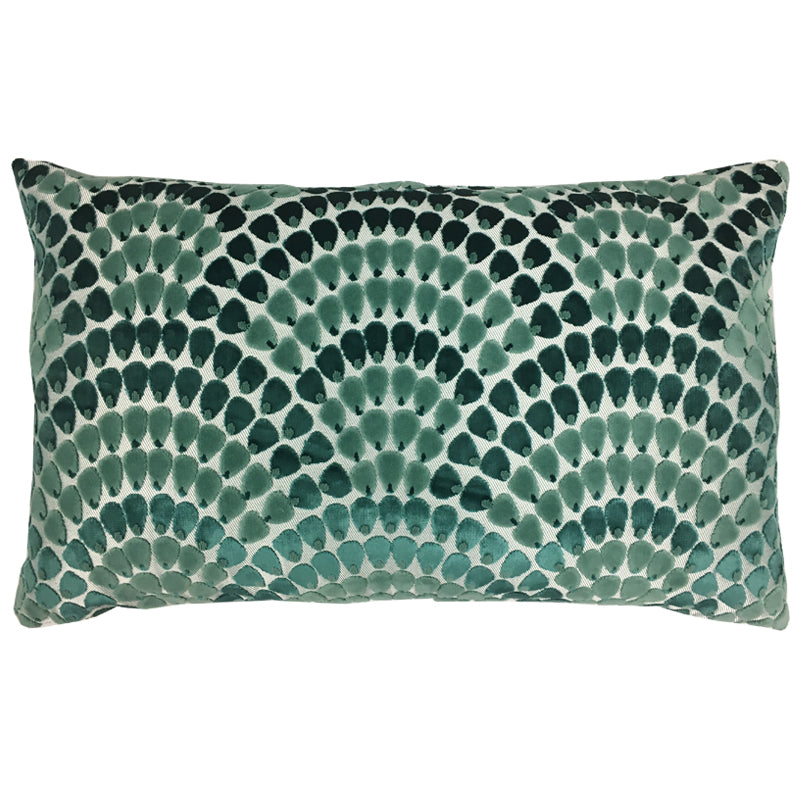 Lennix Pillow | Size 16X26 | Color Peacock