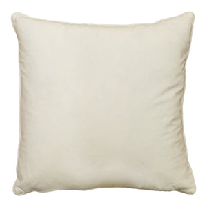 Lia Pillows | Size 20X20 | Color White/Silver