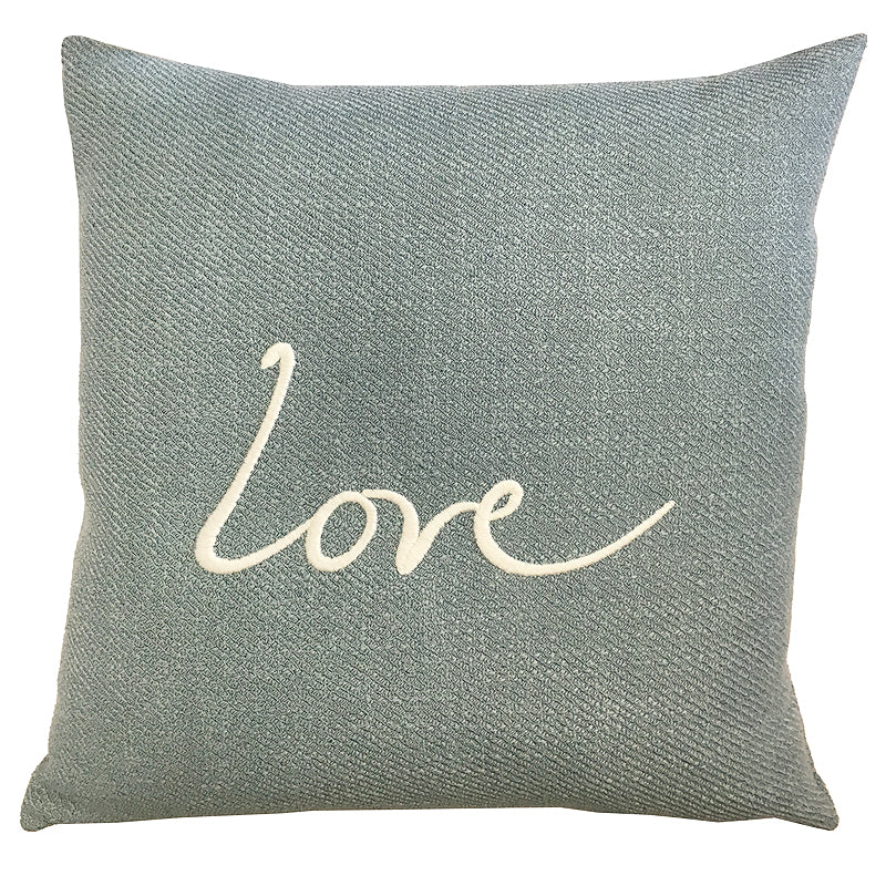 Love Raider Pillow | Size 20X20 | Color Sky
